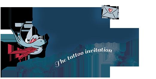 tattoo wedding invitation