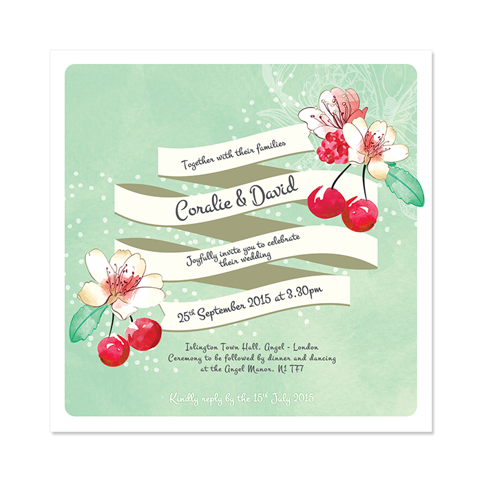 Summer Love Invitation Custom And Unique Wedding Invitations And - Design your own save the date template