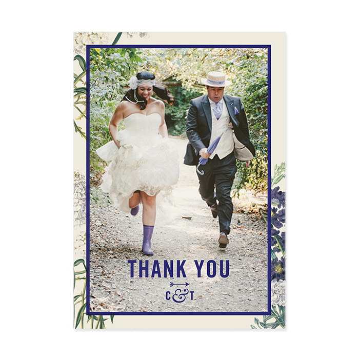 Botanical Garden Thank You Card