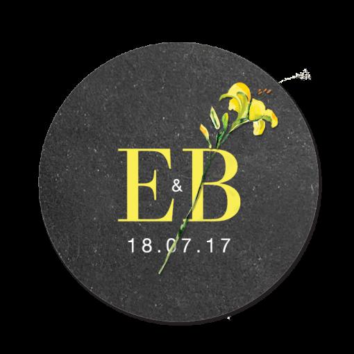 invitation-mariage-personnalise-chanmpetre-jaune-muguet-fleurs-sticker