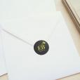 invitation-mariage-personnalise-chanmpetre-jaune-muguet-fleurs-sticker-enveloppe