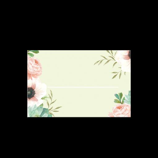 invitation-mariage-personnalise-fleurs-pink-mint-bouquet-marqueplace_front