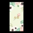 invitation-mariage-personnalise-fleurs-pink-mint-bouquet-menu-verso-UK