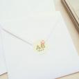 invitation-mariage-personnalise-fleurs-pink-mint-bouquet-sticker-logo-UK