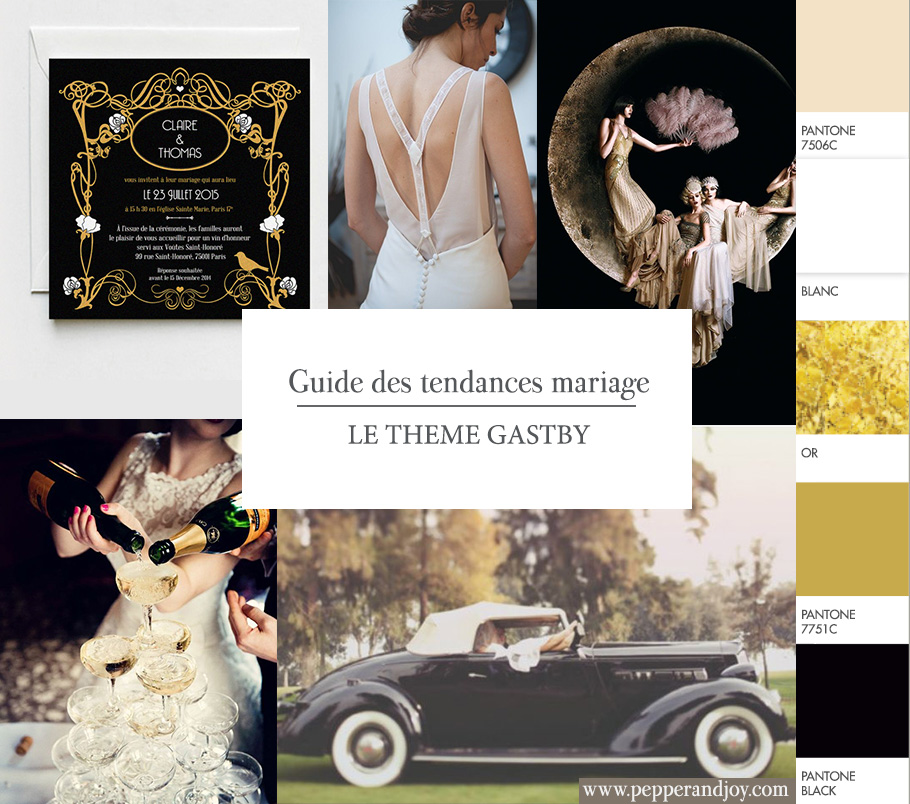 Guide Mariage 2015 Th 232 Me Gastby
