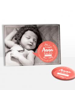 Réalisez en ligne un faire-part de naissance original pour votre nouveau-né