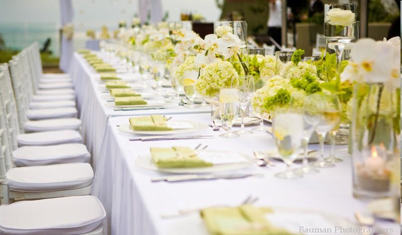 Comment d corer votre table de mariage - Comment faire une decoration de table ...