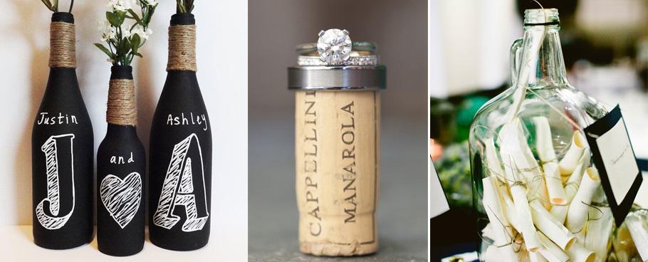 Top Mariage autour du vin, faire-part viticole LO46