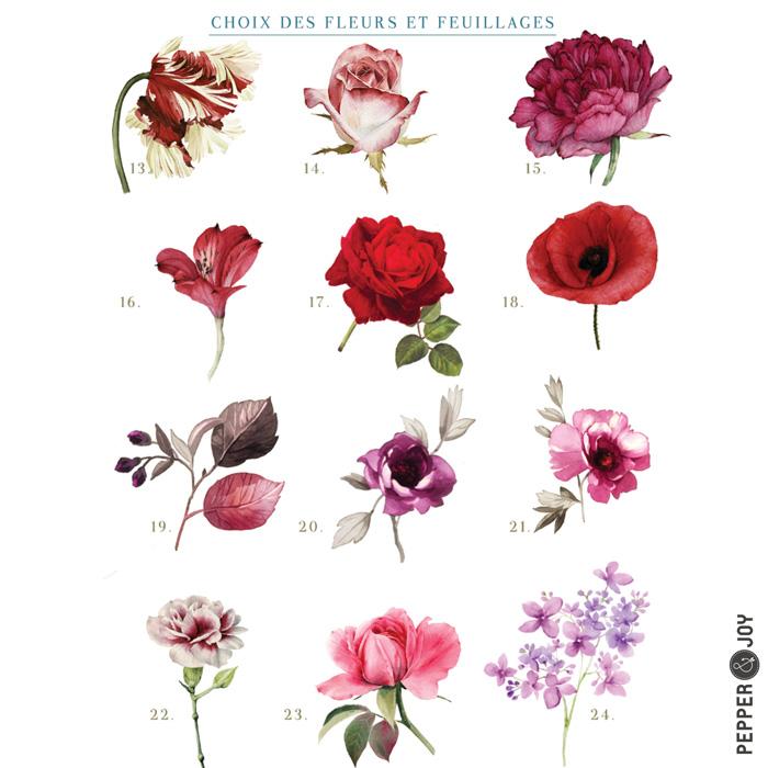 Le Bouquet De La Mariée Sur Mesure Livre Dor Album