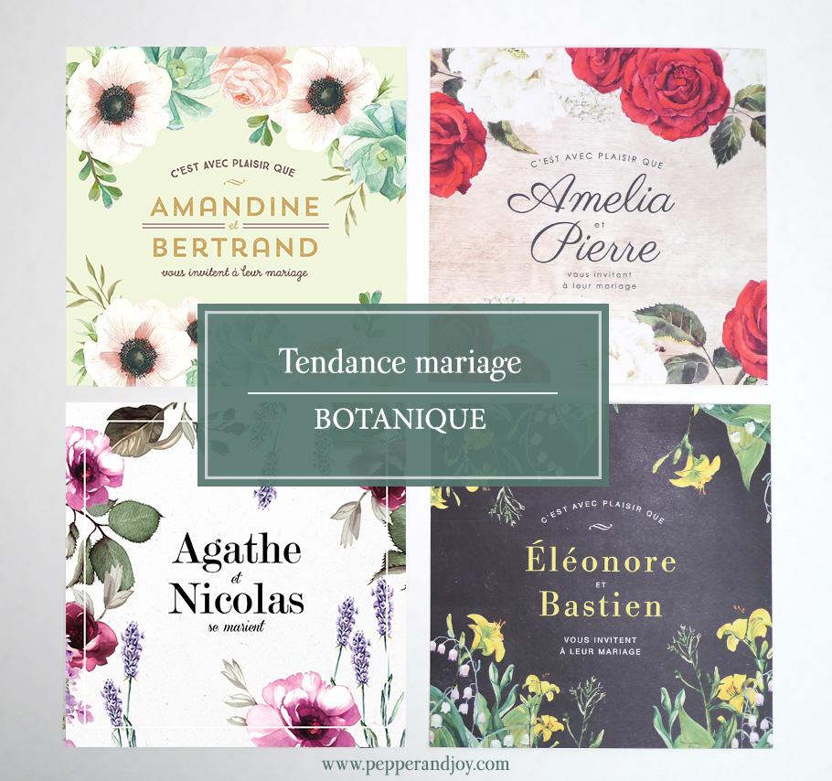 Tendance mariage champêtre 2016 : Mariage à fleurs, botanique chic