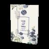 Livre d'or de mariage personnalisé avec fleurs de Provence. Ambiance champêtre chic