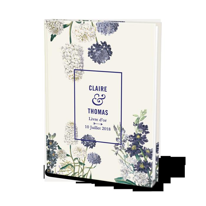 livre d 39 or de mariage personnalis fleurs jardin botanique. Black Bedroom Furniture Sets. Home Design Ideas
