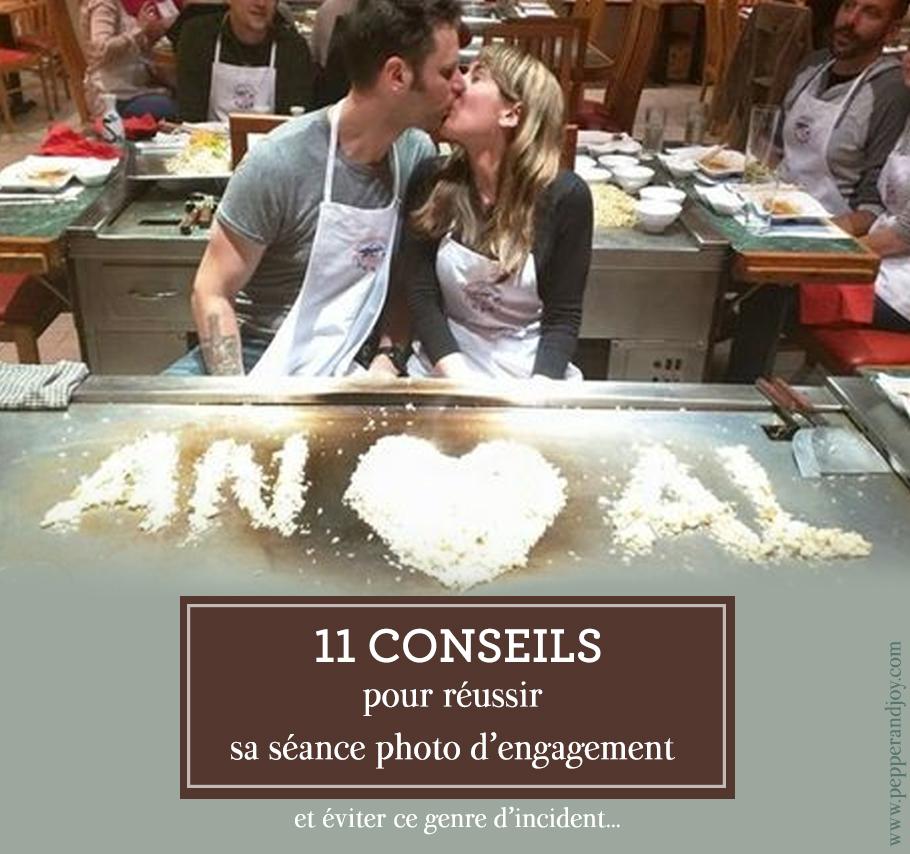 11 conseils pour réussir sa séance photo d'engagement de mariage