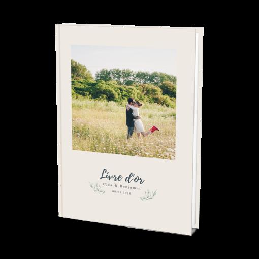 Livre d'or de mariage photo des mariés