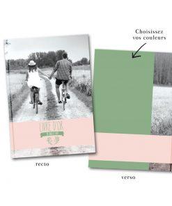 Livre d'or photo de mariage personnalisé, blogo des mariés avec branches