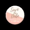 Save the date magnet de mariage. idées cadeau originale pour les invités.