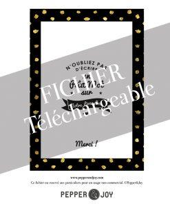 DIY panneau de mariage pour livre d'or