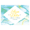 Save the date de Mariage Marbre