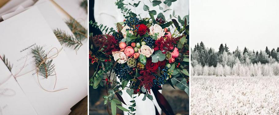 mariage à la montagne, idées décoration de table de mariage