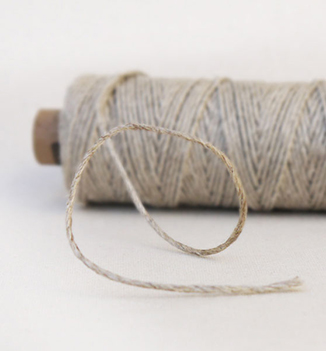 Ficelle en Lin Bakers twine pour faire-part nature