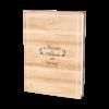 Livre d'or mariage Bois, ambiance Nature avec le fond bois les cerfs et les sapins.
