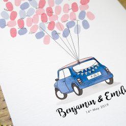 Livre d'or de mariage Mini Rover personnalisable