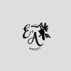 Tampon logo de mariage toucan exotique chic