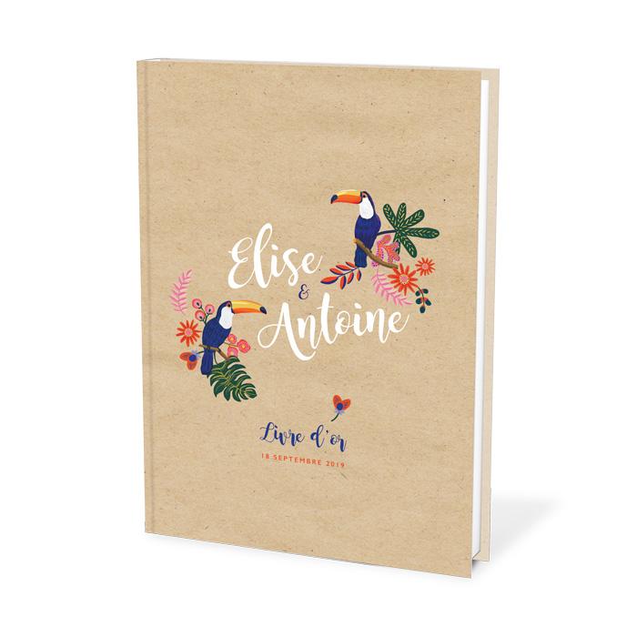 Livre D Or De Mariage Nature Sous Les Tropique Oiseaux Exotiques
