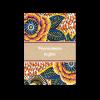 Mariage africain, thème afro chic avec motif wax sur ce petit carton invitation diner mariage et brunch du lendemain.