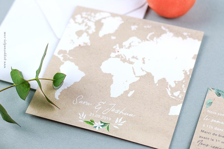 Faire Part Mariage Bilingue International Texte Mariage En
