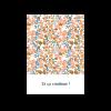Carton invitation mariage liberty diner brunch motif fleuri