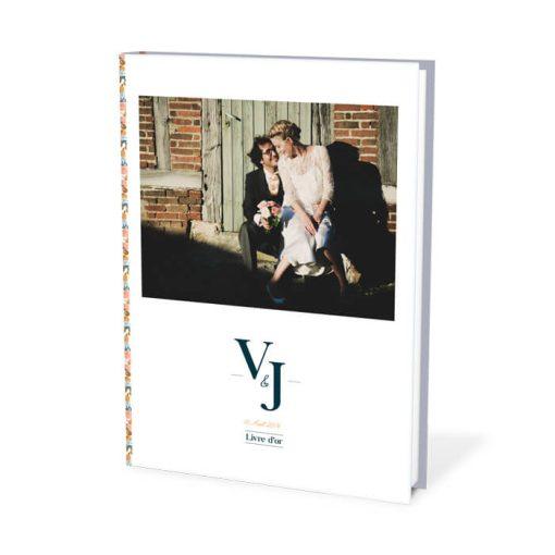 livre d'or mariage liberty personnalisé