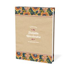 Livre d'or mariage africain wax ethnique chic