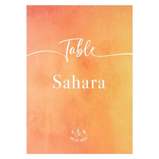 Carte nom table mariage imprimée. Décoration table mariage