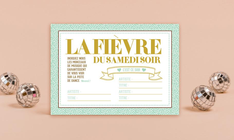DIY mariage gratuit, carte dance floor, soirée mariage